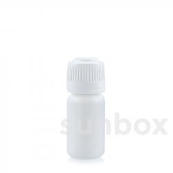 Garrafa branca 10ml PE
