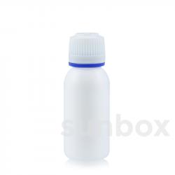 Garrafa branca 25ml PE