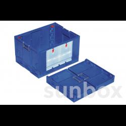 Caixa de plástico com portas 800x600mm