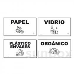 Etiquetas para recolha seletiva