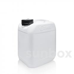 Jerrican empilhável 5 litros. Diâmetro de boca especial 44mm