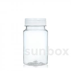 Frasco para comprimidos de 150ml Tampa Articulada