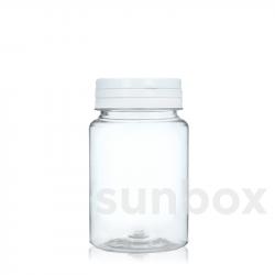 Frasco para comprimidos de 75ml Tampa Articulada