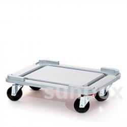 Base com rodas para Caixas S-Box 100L (62x50cm)
