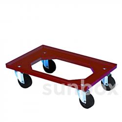 Base com rodas (60x40cm)