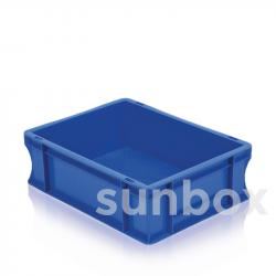 Caixa NE empilhável Azul (60x40x10cm) 25L